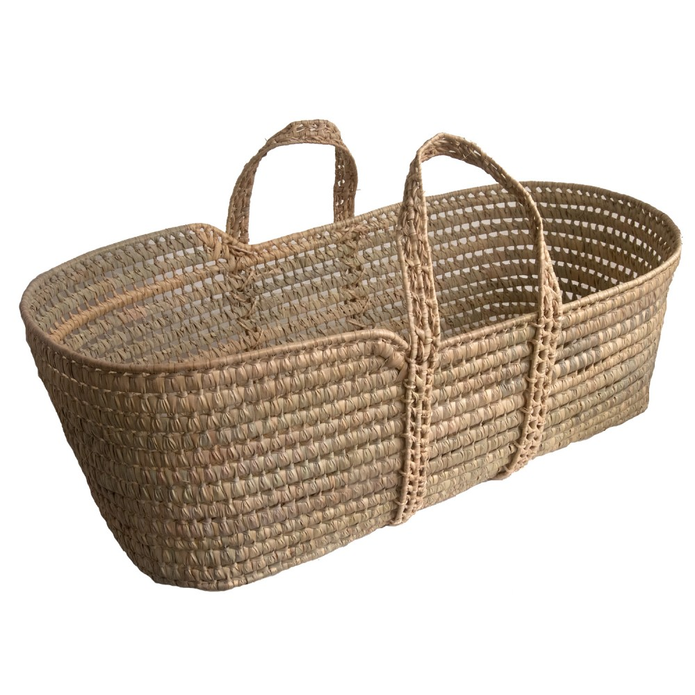 Palm Moses Basket Kosmopolitan