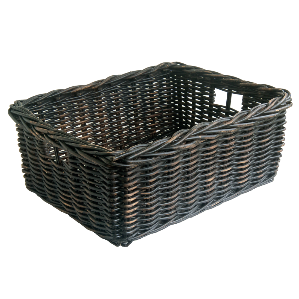 Blackwash Storage Baskets in 2 sizes