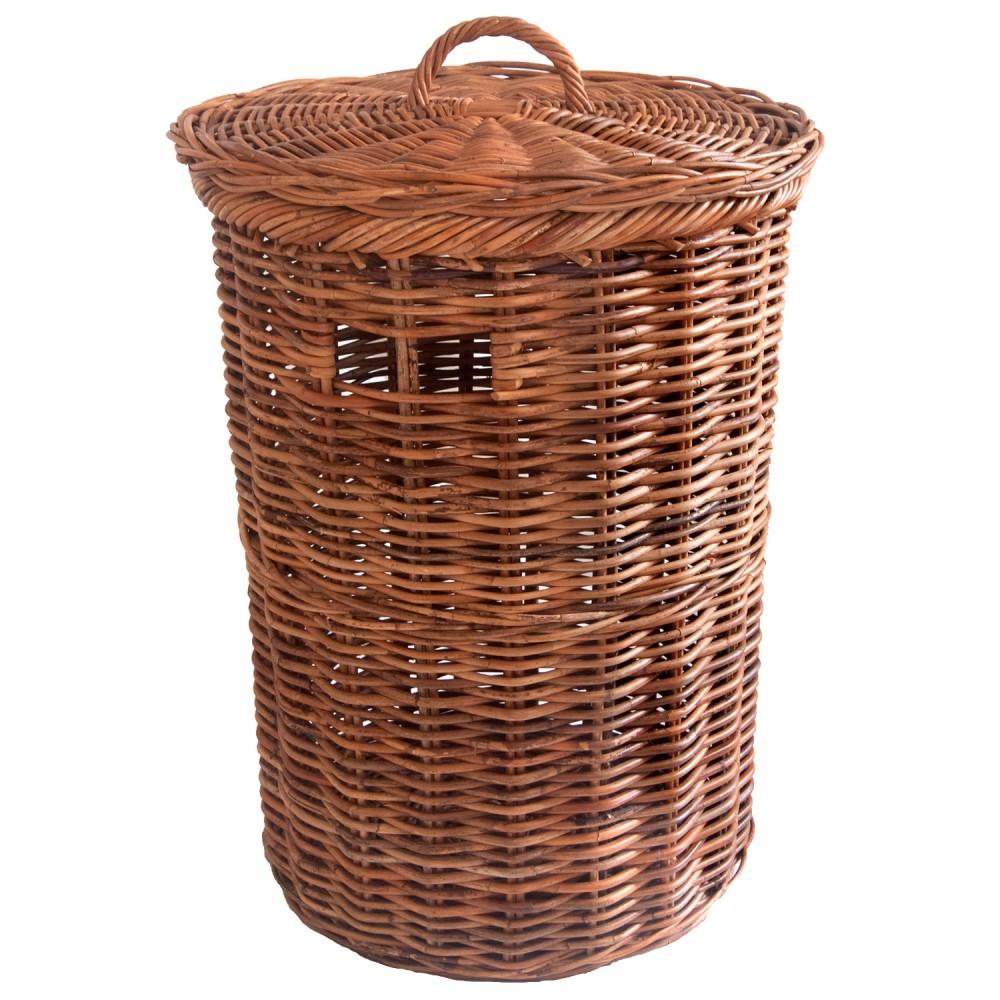 Round Lacak Linen Basket Kosmopolitan