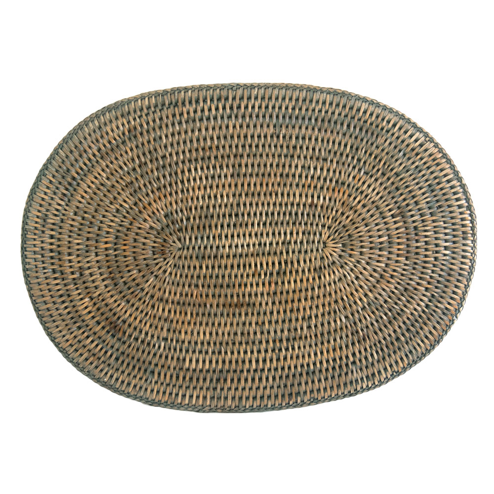 Rattan Placemats And Coasters