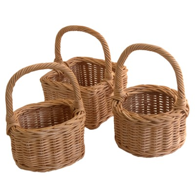 Posy Basket made of Rattan Core