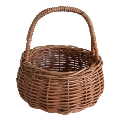 Wicker Egg Basket