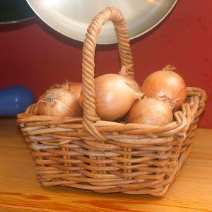 Small Oblong Posy Basket