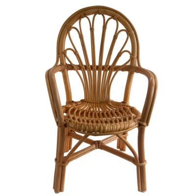 Child's Wicker Chair made of rattan