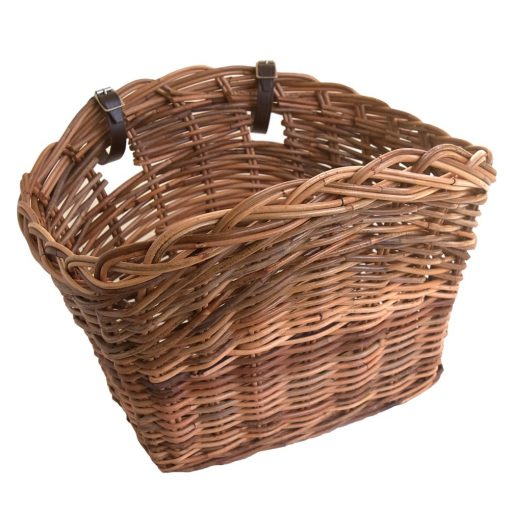 Classic Wicker Bicycle Basket