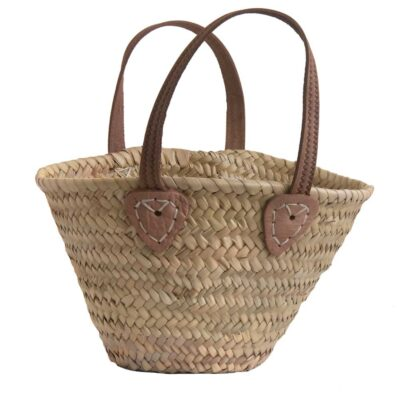 Child's Shopper with Leather Handles