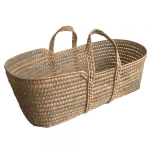 Undressed Palm Moses Basket