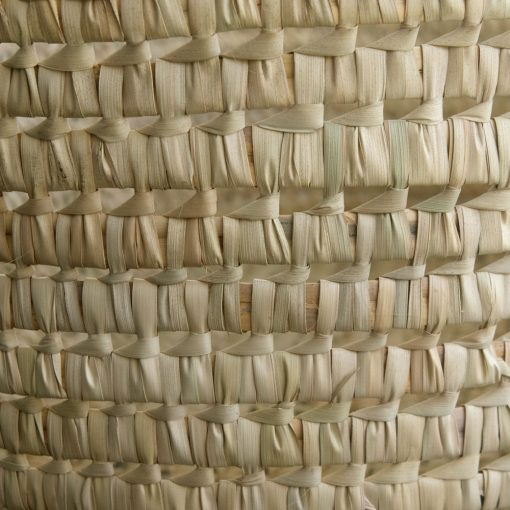 Palm Moses Basket Weave