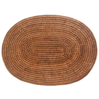 Oval Rattan Placemat