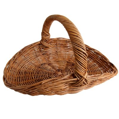 Small Wicker Fireside Trug