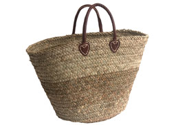 round bottomed seagrass basket