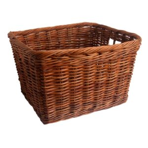 Oblong Rattan Log Storage Basket