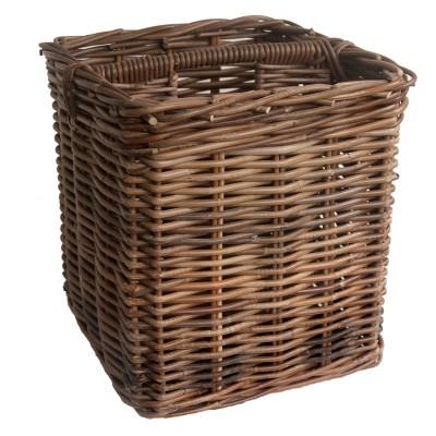 Square Fireside Kindling and Paper Basket