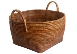 round storage basket