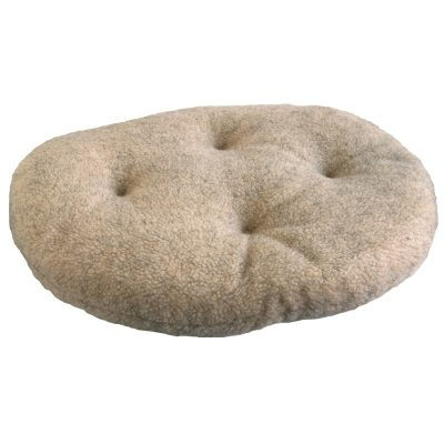 Fleece Cushion for Classic Wicker Dog Basket – 5 sizes