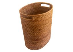 Wastepaper basket with metal liner