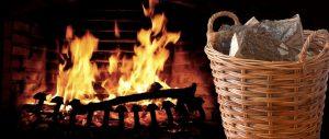 Log Baskets from Kosmopolitan