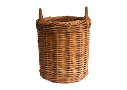 Classic Round Log Basket in 5 sizes