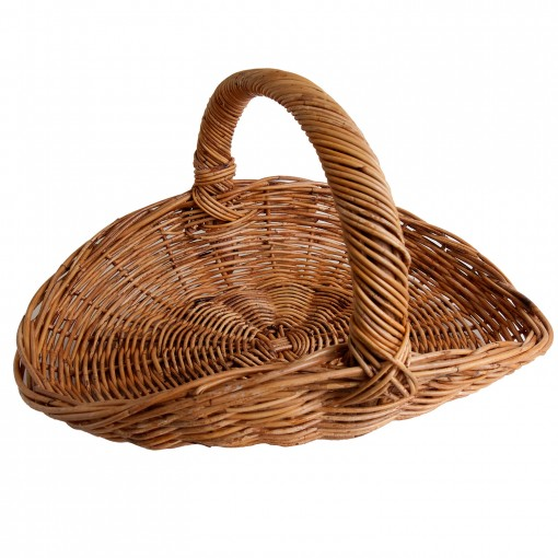 wicker foraging trug
