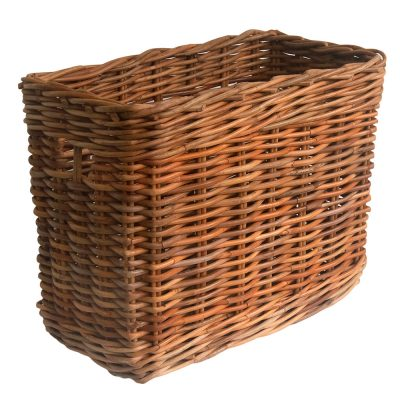 tall narrow storage basket