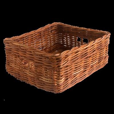 Oblong Wicker Storage Basket in 2 Sizes