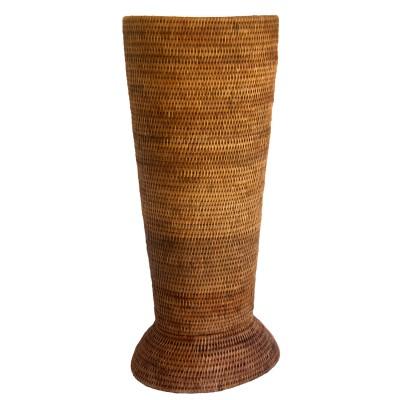 Rattan umbrella basket from Burma