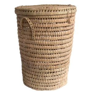 Linen Basket made from woven palm