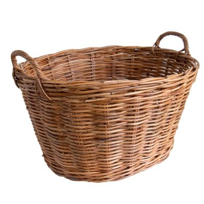 Classic Rattan Washing Basket