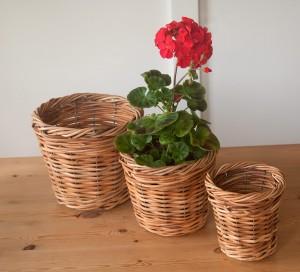 rattan plant pot covers