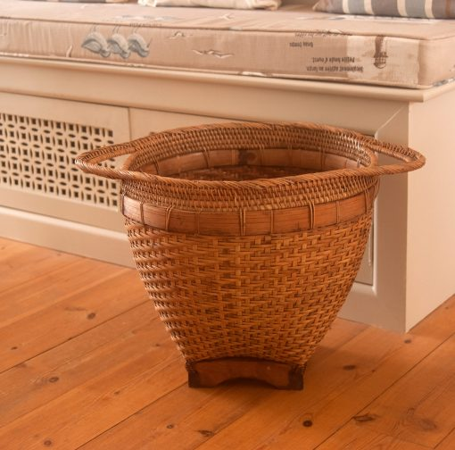 wicker storage from Lombok