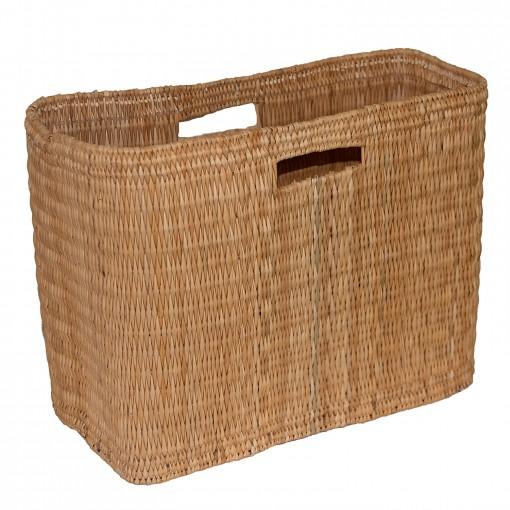 oblong storage basket