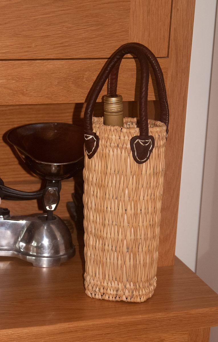 wine bottle basket