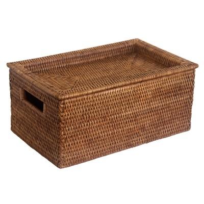 £28.00 · Fine Storage Box with Tray Lid  sc 1 st  Wicker Baskets from Kosmopolitan & Quality Wicker Storage Baskets and Boxes Aboutintivar.Com