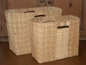 Moroccan storage baskets