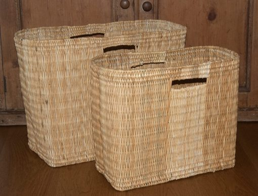 Moroccan storage baskets