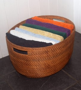 rattan wicker storage