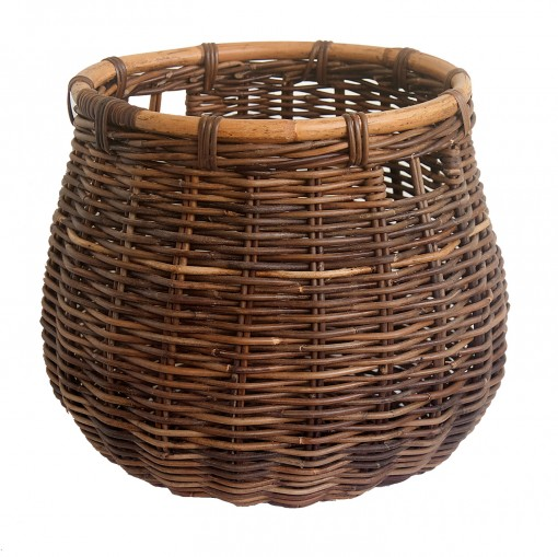 Doughnut Log Basket