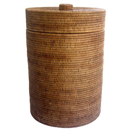 Fine linen basket