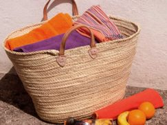 Moroccan French Style Market Baskets