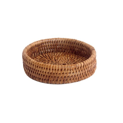 Rattan Wine Bottle Coaster