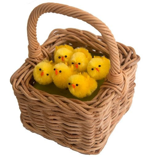 children's easter posy basket
