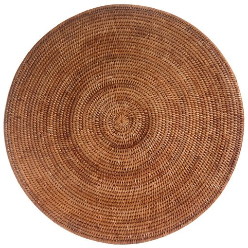 Giant Woven Rattan Table mat or Centrpiece