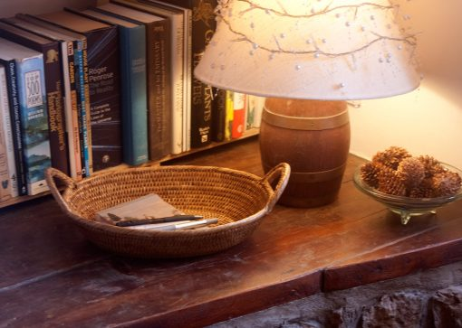 oval wicker basket