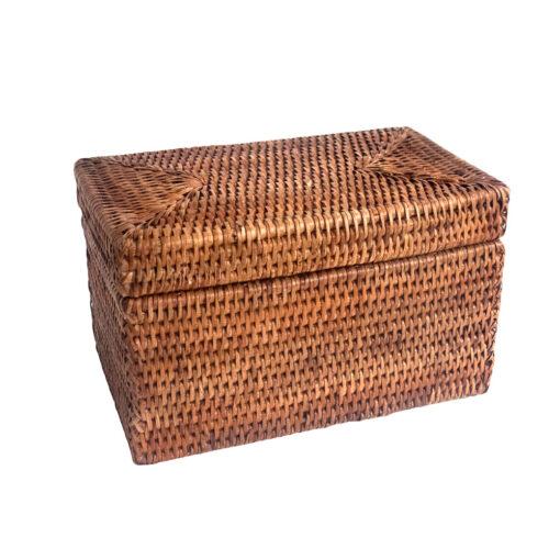 Rattan Trinket Box