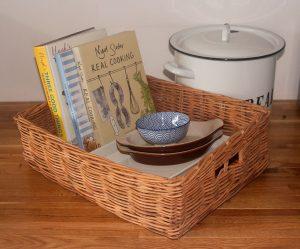 Simple Oblong Storage Basket