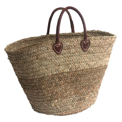 Round-bottomed Seagrass Basket