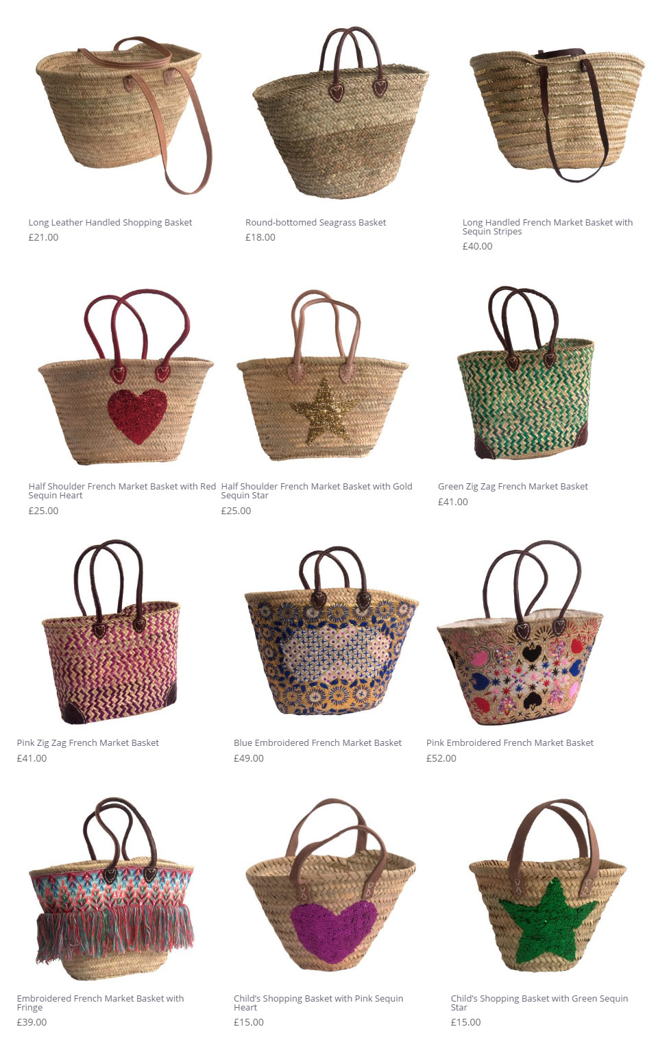new shopping bags