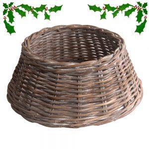 Rattan Christmas Tree Skirt