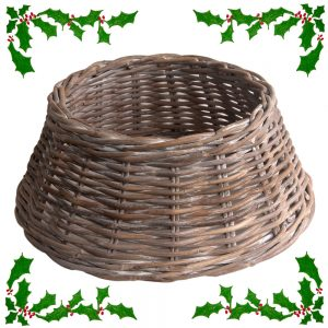 Wicker Christmas Tree Skirt