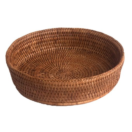 Round Fruit Bowl or Oven Dish Holder
